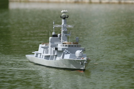 Our model of HMS Norfolk